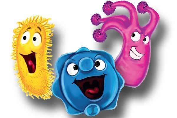 Bakterien von Bacteria Hysteria - Foto von Piatnik