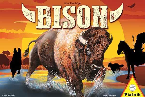 Brettspiel Bison - Foto von Piatnik