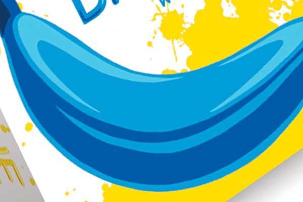 Blue Banana - Ausschnitt - Foto von Piatnik