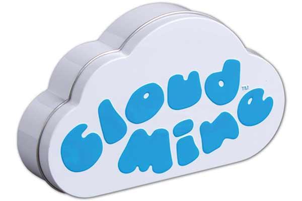 Cloud Mine - Blechdose - Foto von Wolfgang Laufs