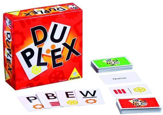 Kartenspiel Duplex - Foto von Piatnik