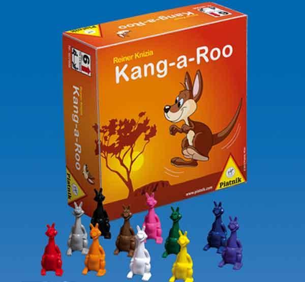 Gesellschaftsspiel Kang-A-Roo - Foto von Piatnik