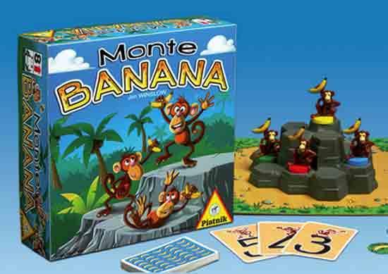 Kinderspiel Monte Banana - Foto von Piatnik