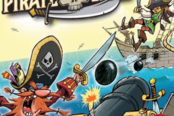 Pirate Ships - Ausschnitt - Foto von Piatnik