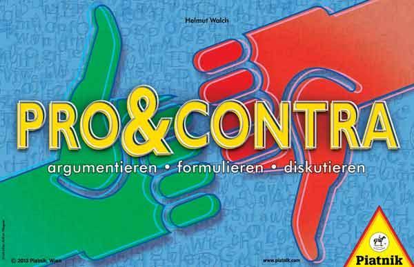 Ratespiel Pro & Contra - Foto von Piatnik
