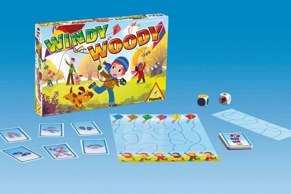 Kinderspiel Windy Woody - Foto von Piatnik