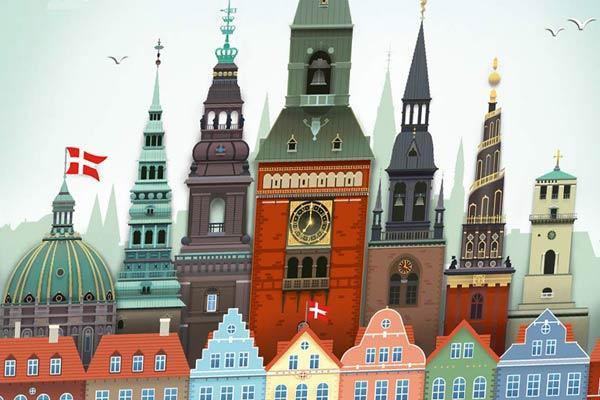 Copenhagen - Ausschnitt - Foto von Queen Games
