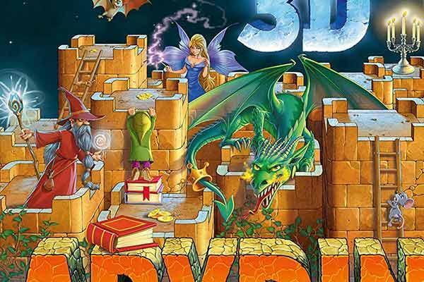 3D Labyrinth - Ausschnitt - Foto von Ravensburger