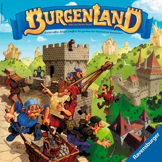 Gesellschaftsspiel Burgenland - Foto von Ravensburger