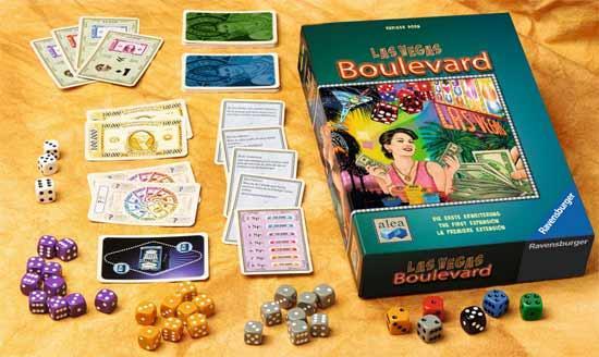 Gesellschaftsspiel Las Vegas Boulevard - Foto von Ravensburger/Alea Spiele