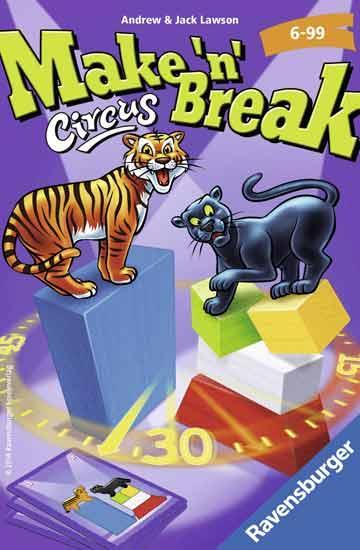 Gesellschaftsspiel Make'n'Break - Circus - Foto von Ravensburger