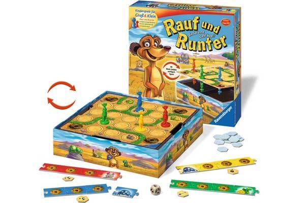 Kinderspiel Rauf und Runter - Foto von Ravensburger