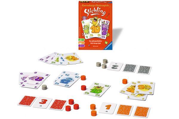 Kartenspiel Stichling - Foto von Ravensburger