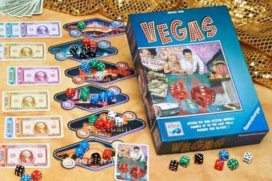 Gesellschaftsspiel Las Vegas - Foto aleaspiele