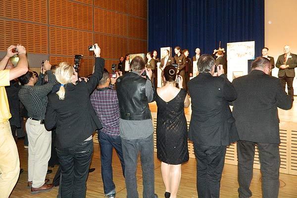 Fotoimpression von der Spiel '13: Der Deutsche Spielepreis - Medieninteresse