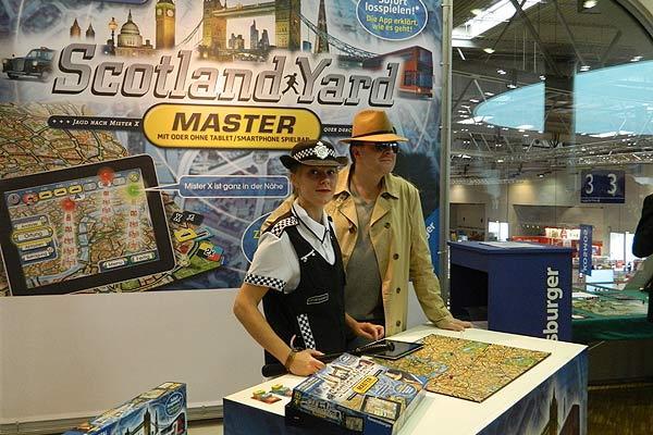 Fotoimpression von der Spiel '13: modernisiertes Scotland Yard