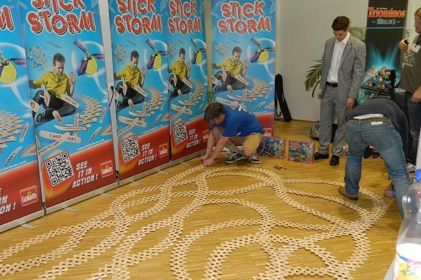 Fotoimpression von der Spiel '13: Stickstorm als spielerisches Spielzeug