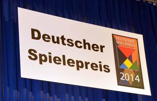 Deutscher Spielepreis 2014 - Preisverleihung