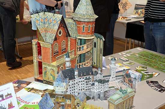 Foto von der Spiel '14: 3D-Puzzles