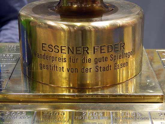 Foto von der Spiel '14: Fuß der Essener Feder