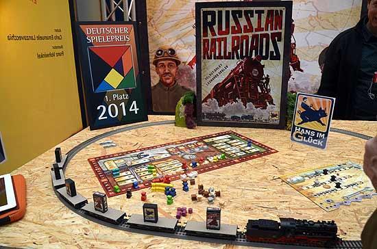 Foto von der Spiel '14: Russian Railroads - Präsentation
