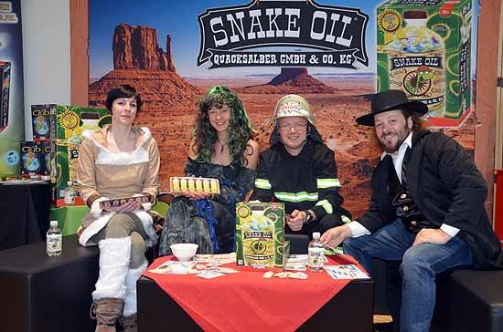 Foto von der Spiel '14: Snake Oil