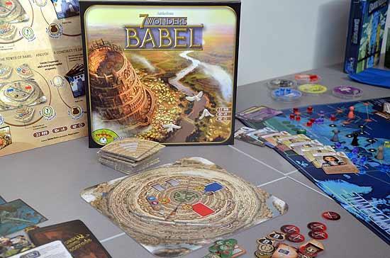 Foto von der Spiel '14: 7 Wonders - Babel