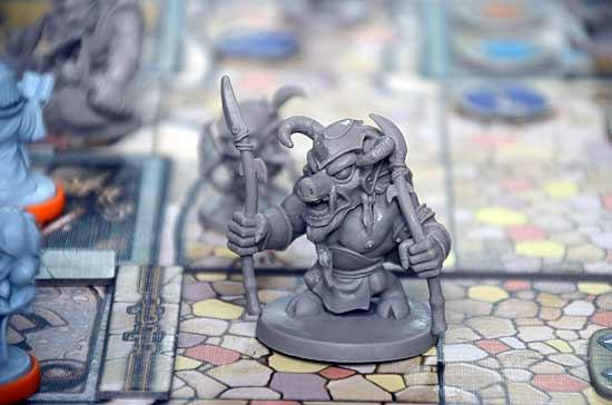 Foto von der Spiel '14: Arcadia Quest - Detail