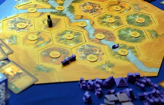 Foto von der Spiel '14: Die Siedler von Catan - Das Alte Ägypten