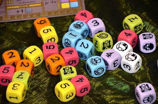 Foto von der Spiel '14: Ciub - Würfel