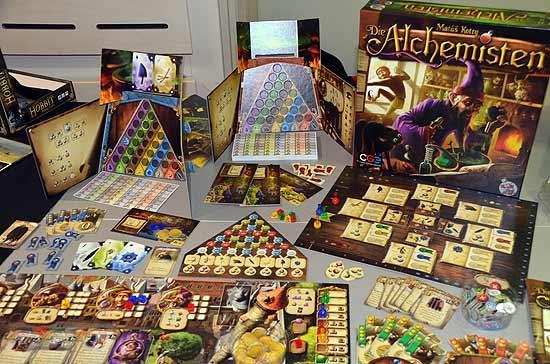 Die Alchemisten Spiel