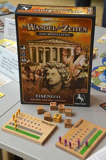 Foto von der Spiel '14: Eisenzeit - Im Wandel der Zeiten Würfelspiel