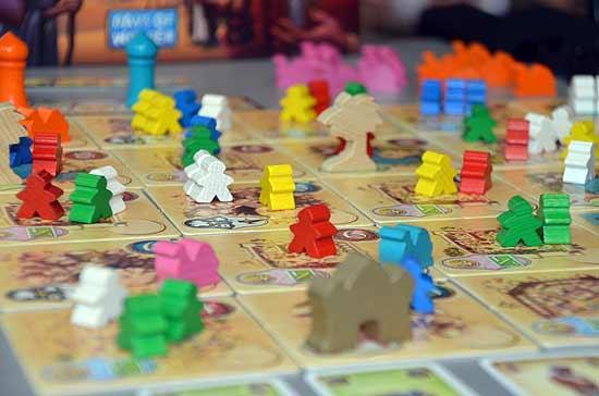 Foto von der Spiel '14: Five Tribes