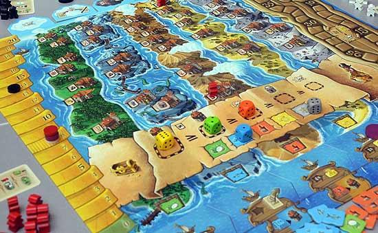 Foto von der Spiel '14: Grog Island