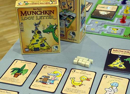Foto von der Spiel '14: Munchkin Loot Letter