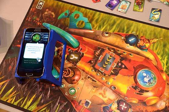 Foto von der Spiel '14: SmartPlay mit Smartphone: Microminds