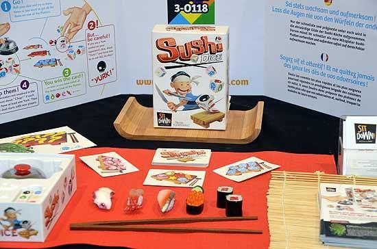 Foto von der Spiel '14: Sushi Dice