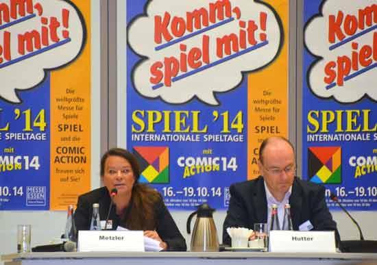 Pressekonferenz Spiel 14 - Dominique Metzler und Hermann Hutter