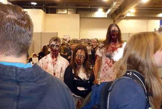 Spiel '14 - Hilfe, die Zombies kommen - Foto von Jörn Frenzel