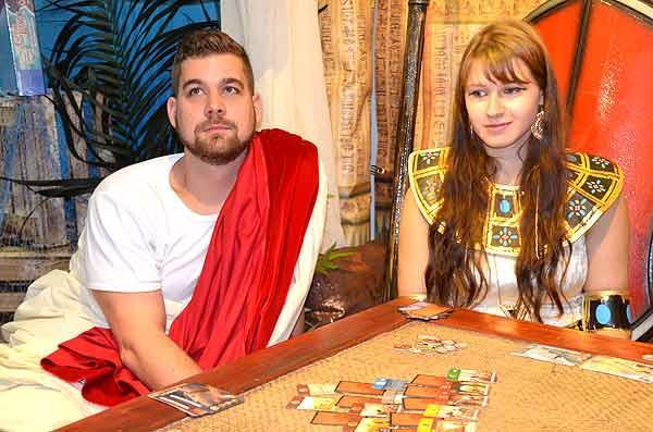 Foto von der Spiel '15: Präsentation 7 Wonders Duels
