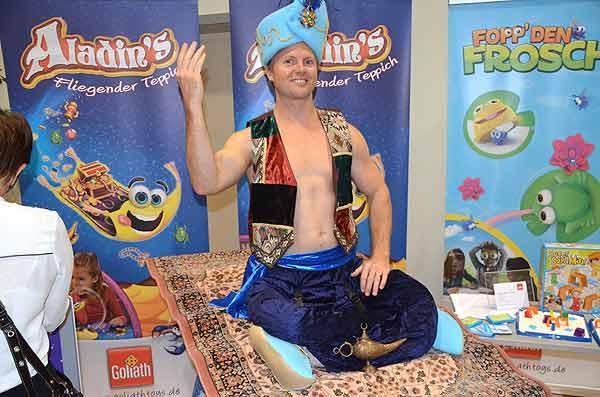 Foto von der Spiel '15: Präsentation Aladin's fliegender Teppich
