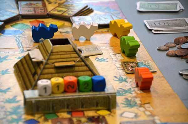 Foto von der Spiel '15: Camel Up mit Erweiterung