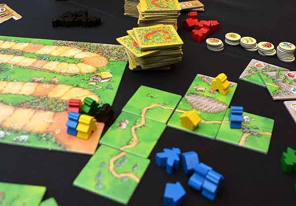 Foto von der Spiel '15: Carcassonne - Über Stock und Stein