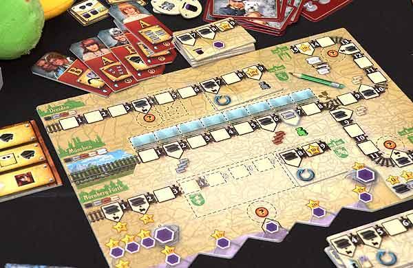 Foto von der Spiel '15: German Railroads