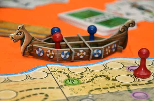 Foto von der Spiel '15: Hengist - Drachenboot