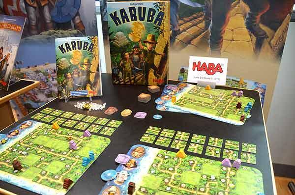 Foto von der Spiel '15: Karuba