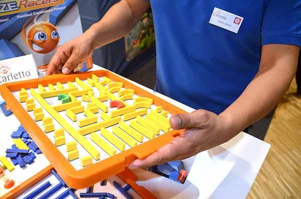 Foto von der Spiel '15: Präsentation Maze Racers