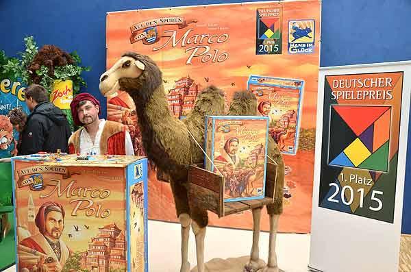 Foto von der Spiel '15: Präsentation - Auf den Spuren von Marco Polo