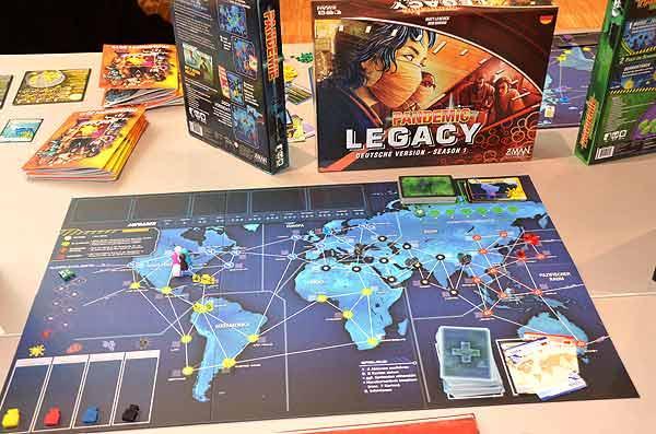Foto von der Spiel '15: Pandemie Legacy