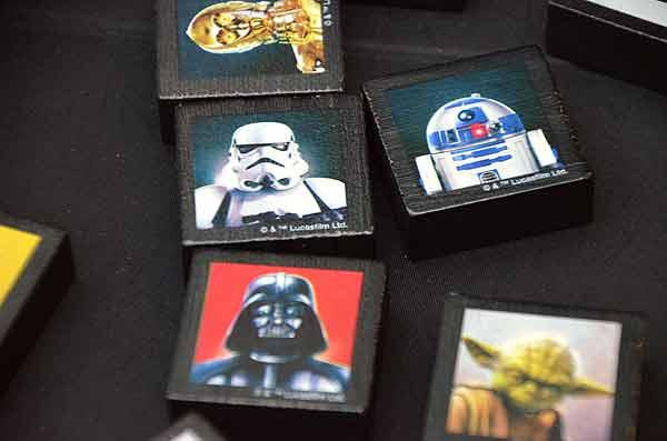 Foto von der Spiel '15: Qwirkle Star Wars